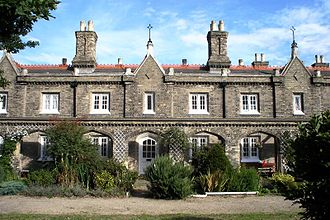 Penge - The Watermen's Almshouses