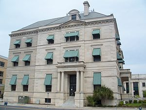 United States Customs House and Post Office (Pensacola, Florida) - Image: Pensacola Customshouse 04