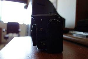 Pentax K-30 - Image: Pentax K 30 with a SMC Pentax DA 40mm f 2.8 XS lens