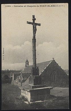 Penvénan - Calvaire et chapelle de Port-Blanc - AD22 - 16FI2780.jpg
