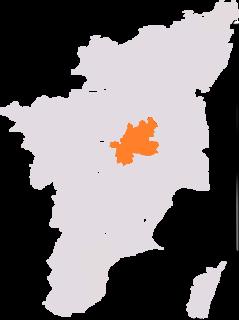 Perambalur (Lok Sabha constituency) One of the 39 parliamentary constituencies in Tamil Nadu, India