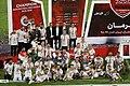 Persepolis F.C. celebrating after 2019–20 Persian Gulf Pro League trophy (43).jpg