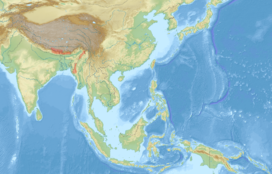Petaurista magnificus distribution map.png