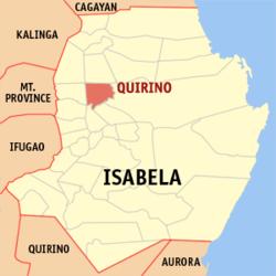 Isabela Map Philippines Quirino, Isabela   Wikipedia