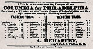 Philadelphia and Columbia Railroad former railroad in Pennsylvania