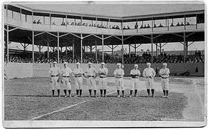 1884 Philadelphia Quakers season - Philadelphia Baseball Club, 1884, Mulvey, Coleman, Farrar, Andrews, Manning