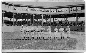 1884 Philadelphia Quakers season - Philadelphia Baseball Club, 1884, Mulvey, Coleman, Farrar, Andrews, Manning