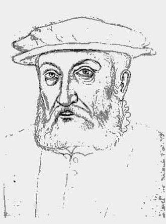 Philippe II de Croÿ - Philippe II de Croÿ  (by Jacques Le Boucq).