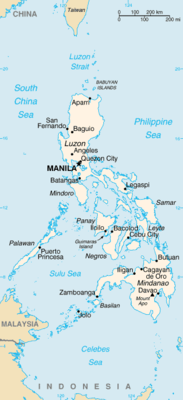 Filippine - Mappa