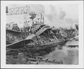 Photograph of warships damaged at Pearl Harbor - NARA - 306534.tif