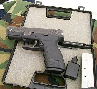 HS2000 - A late model HS2000 service pistol