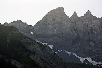 Glarus thrust - Martinsloch