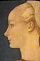 Piero del pollaiolo, ritratto di giovane donna, 1465 ca. (berlino) 04.JPG