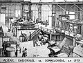 Pierre Blanc, dessin Aciérie Dommeldange (1909).jpg