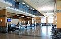 Pierre Regional Airport ticket counter.JPG