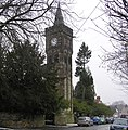Pierremont clock tower , Tower Road - geograph.org.uk - 136778.jpg