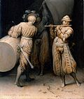 Pieter Brueghel, the Elder - Three soldiers.JPG