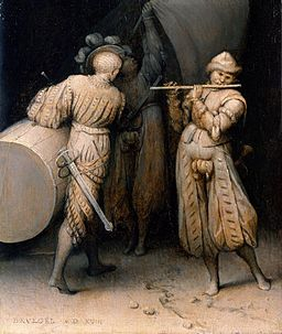 Pieter Brueghel, the Elder - Three soldiers