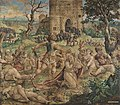Pieter Coecke van Aelst, Cartoon for the Martyrdom of Paul, circa 1530, Museum of the City of Brussels.jpg