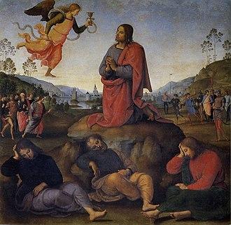 Agony in the Garden (Perugino) - Image: Pietro Perugino cat 20