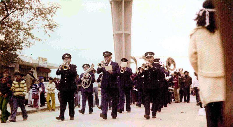 תזמורת המשטרה בחג העצמאות