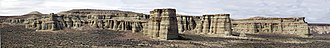 U.S. Route 95 - Image: Pillars Of Rome Pano 1