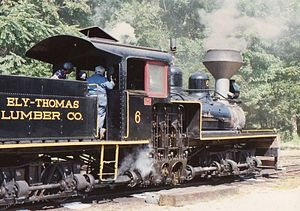New Jersey Museum of Transportation - The Ely-Thomas Lumber Company No. 6 train