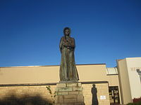 Pioneer Mother of KS statue, Liberal, KS IMG 5983.JPG