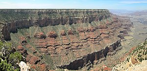 point de vue de Pipe Creek Vista, Grand Canyon...