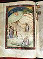 Pisa e firenze, commedia di dante, episodi del purgatorio, 1390 circa poi 1420-25, c.s. 204, c. 95v, 02.JPG