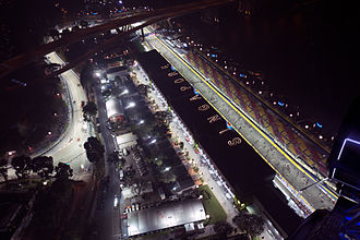 2014 Singapore Grand Prix - Marina Bay Street Circuit, where the race was held
