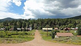 Pitkin, Colorado - Pitkin in 2014.