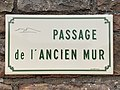 Plaque Passage Ancien Mur - Solutré-Pouilly (FR71) - 2021-03-02 - 1.jpg