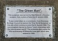 "Plaque for ""The Green Man"" - geograph.org.uk - 1176167.jpg"