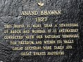 Plaque for Anand Bhavan (Nehru House) - Allahabad - Uttar Pradesh - India (12567104674).jpg