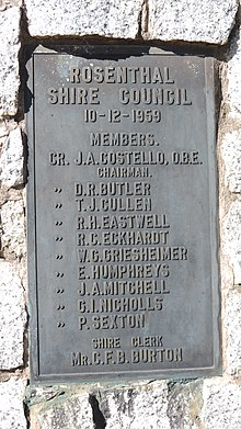 Shire of Rosenthal - Wikipedia