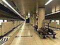 Platform of Hakozaki-Kyudaimae Station 9.jpg