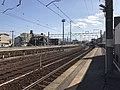 Platform of Nishi-Karatsu Station 2.jpg