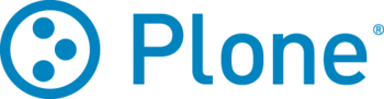 English: The logo of Plone, and Open Source Co...