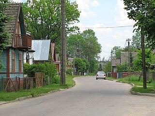 Pomigacze Village in Podlaskie Voivodeship, Poland