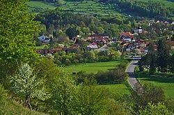 Pohled na vesnici ze severu, Štěpánov nad Svratkou, okres Žďár nad Sázavou (02).jpg