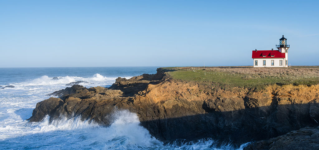 Point Cabrillo Lighthouse (panoramic view)