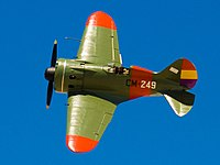 Polikarpov I-16-Spain (clipped)