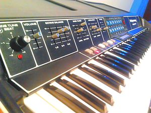 Polymoog - The Polymoog Keyboard model 280a