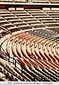 Polypropylene chairs at Mexico Olympics 1968.jpg
