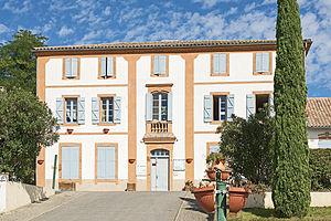 Pompignan, Tarn-et-Garonne - The town hall of Pompignan