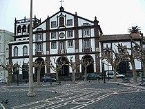 Ponta Delgada - square and house.JPG