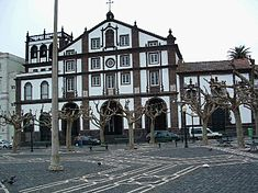 Ponta Delgada - square and house.JPG