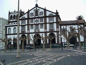 São José (Ponta Delgada) - The Matriz Church of São José, located in the Campo do São Fransisco, one of the central buildings in São José