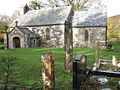 Pontfaen church with pillar stones - geograph.org.uk - 277867.jpg